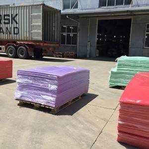 HDPE  SHEET  used  for  sliver  can