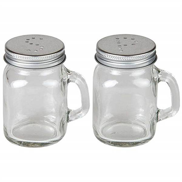 2017 wholesale priceGlass Jar With Metal Lid -