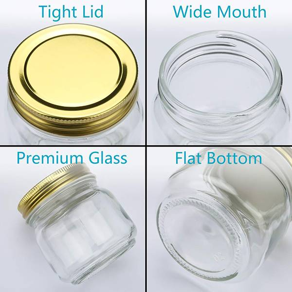 High Quality for 30ml Honey Glass Jar -