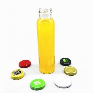 300ml beverage glass bottle with cap