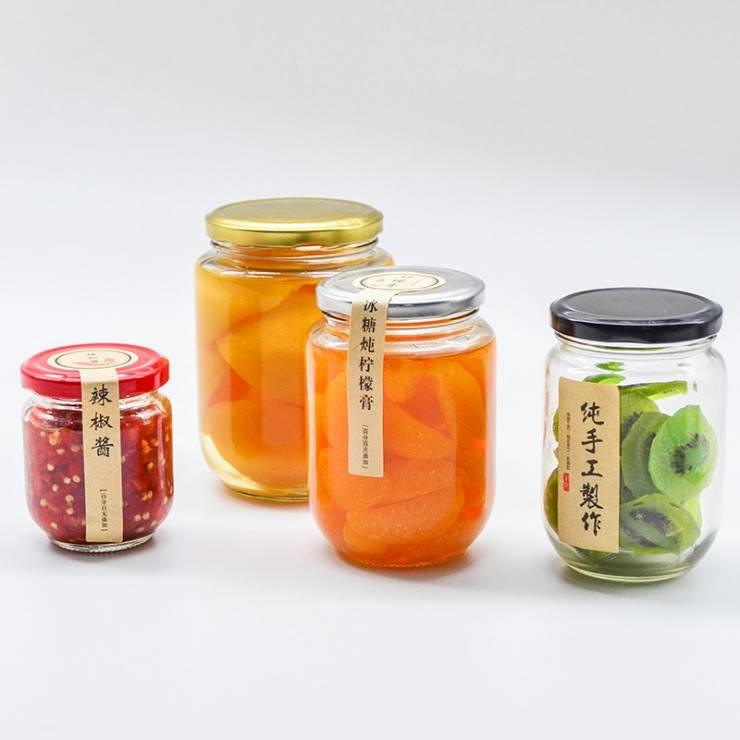 Factory Supply Glass Juice Bottle -