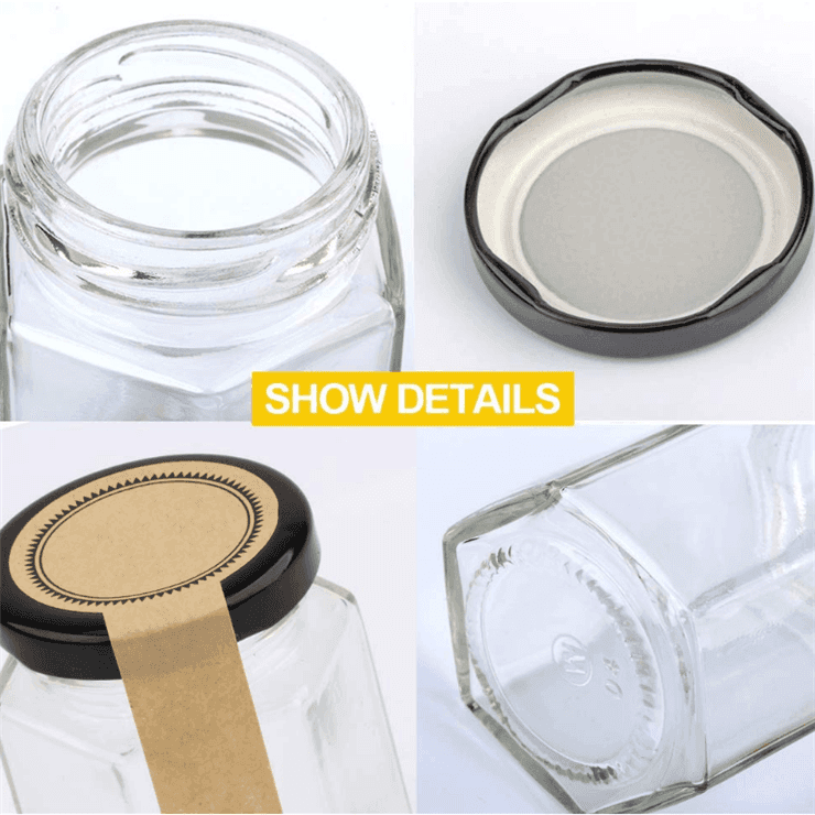 Big Discount Candle Glass Jar With Lid -