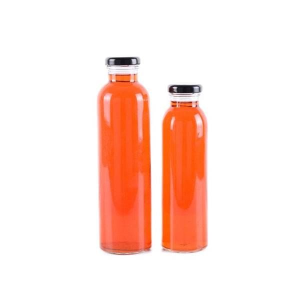 Leading Manufacturer for Glass Milk Bottles With Cap -