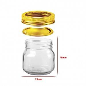 Hot sale Factory Canning Jars Glass Mason -