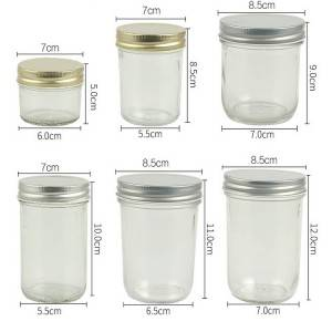 Chinese wholesale Cheap Small Glass Jam Jars -