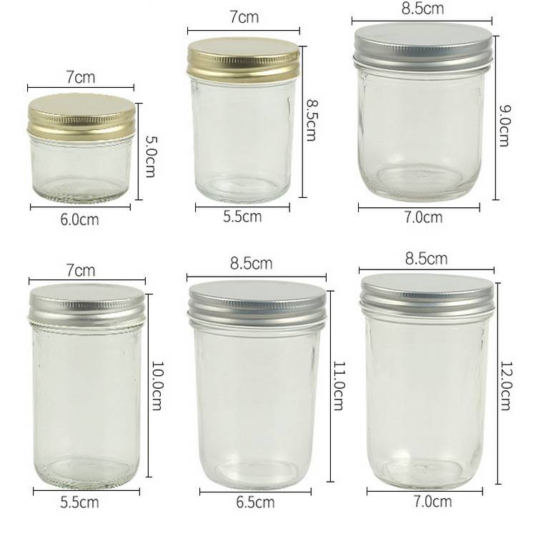 China Cheap price Storage Bottles Jars Glass -