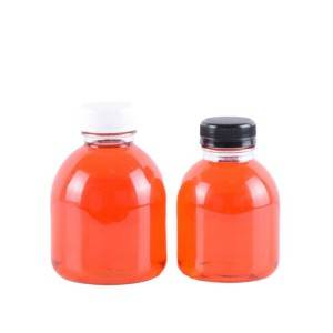 New sale300ml  fruit juice glass bottle with plastic cap