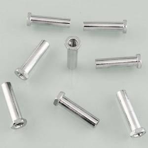 Hexagonal hollow bolt