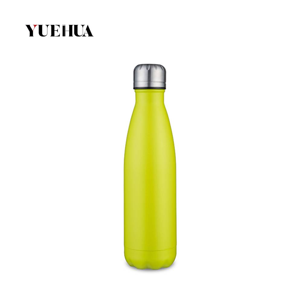 Free sample for Vacuum Cola Shaped Bottle -