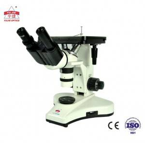 1250X Industry Inverted Metallurgical Microscope/binocular microscope YJ-2006B