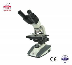1000X Binocular Biological Microscope/binocular microscope YJ-2101B