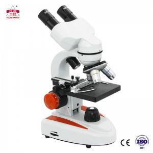 Monoculr student biological microscope YJ-24B
