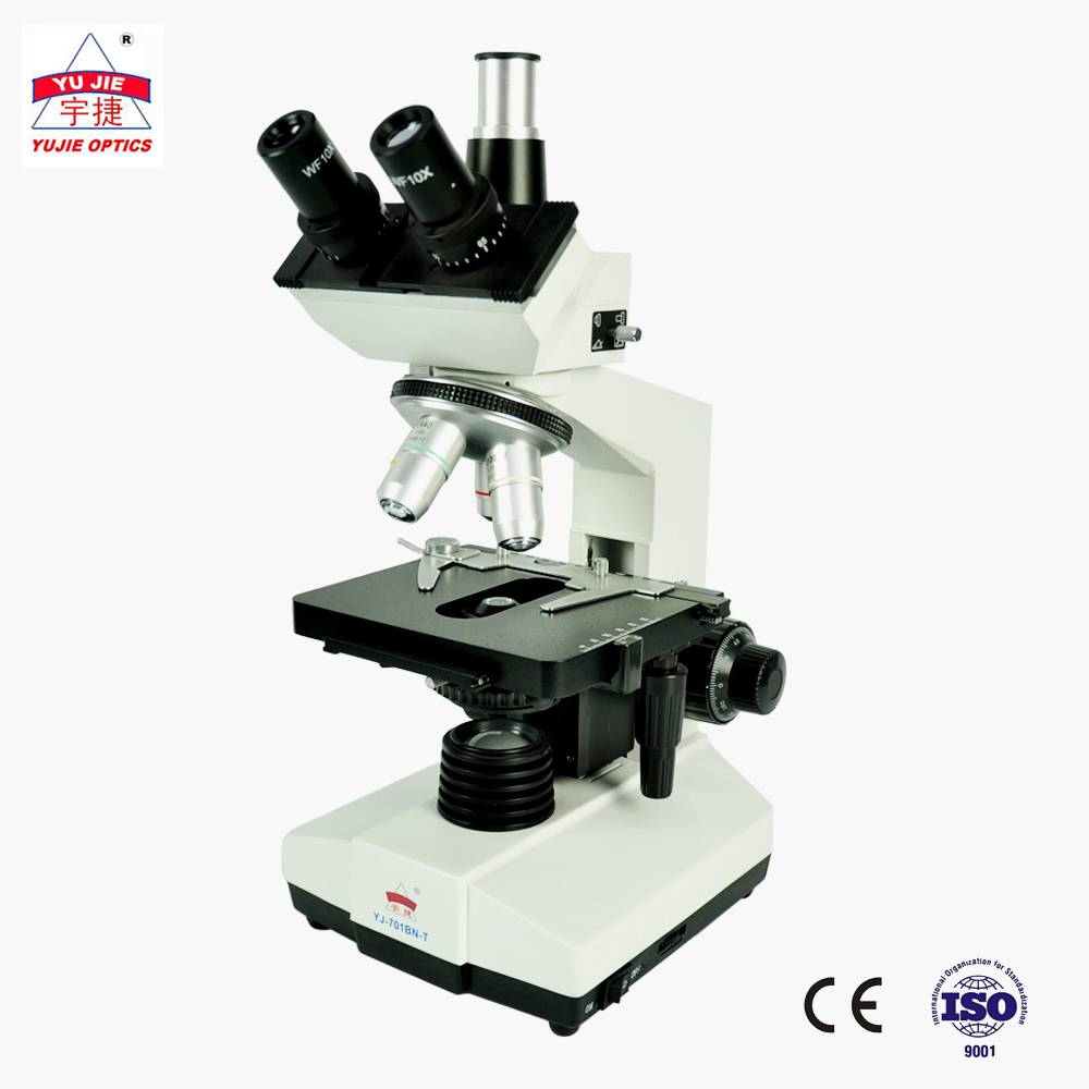 sliding head trinocular Biological Microscope YJ-701BN-T Featured Image