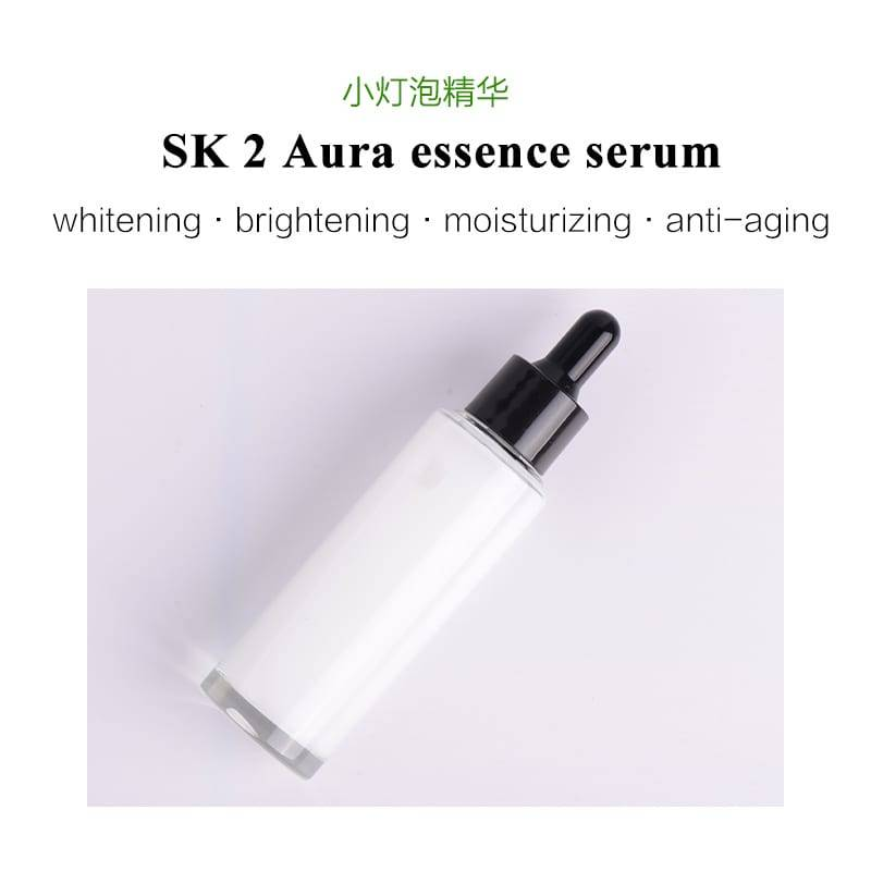 OEM SK2 aura essence niacinamide face serum for whitening brightening antioxidant anti-aging anti-wrinkle skin care