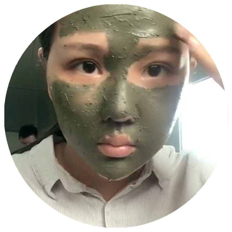 artemisia argyi deep cleansing face mud mask, oem best anti acne removal clay facial mask with tea tree oil for oil balance