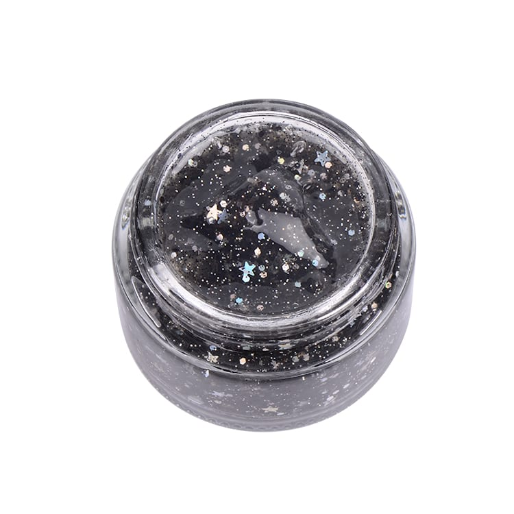 OEM private label beauty whitening nourishing moisturizing star glitter beauty face mask