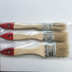 Many different size paint brush set from Chinese supplier