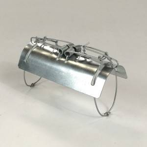 Galvanized Tunnel Gopher Mole Traps from Chinese Manufacture