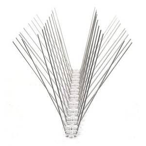 Manufacturer of Iron Rat Trap - High quality stainless steel anti bird spikes with PC base  – Yusheng
