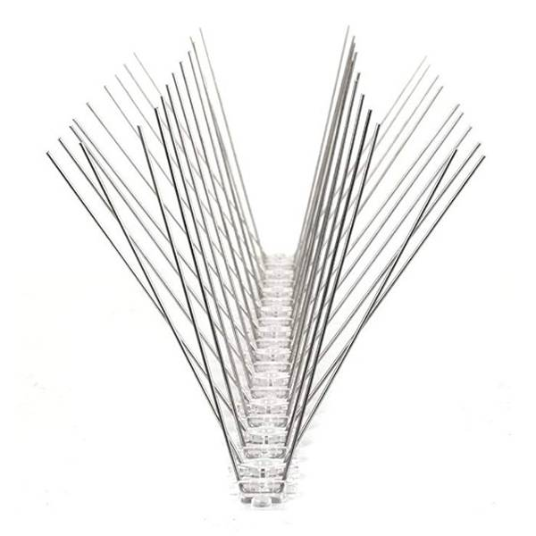 Professional China High Quality Anti Bird Net - High quality stainless steel anti bird spikes with PC base  – Yusheng
