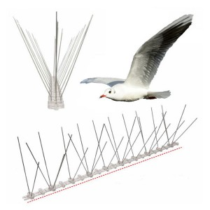Original Factory Best Pest Controller Eco-Friendly Mole Trap - Multifunctional Pests Control Bird Repellent Spikes – Yusheng
