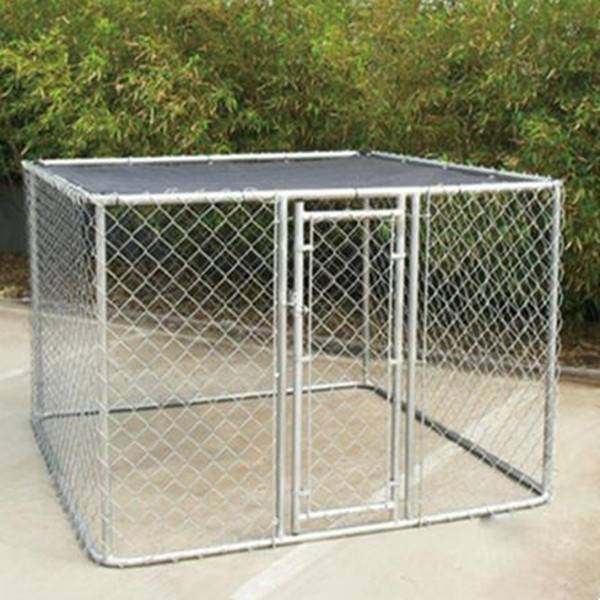 Cheapest Price Dog Pens - chain link dog kennel/cheap galvanizedl dog kennel wholesale – Yusheng