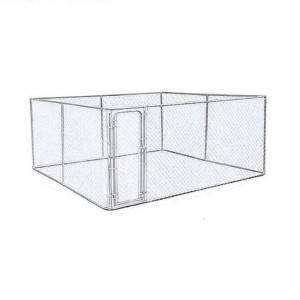 Chain Link Dog Run Kennel China dog cage for sale