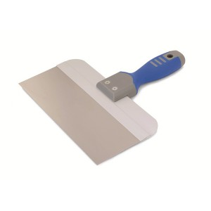 Very comfortable plastic handle Wide Spatula