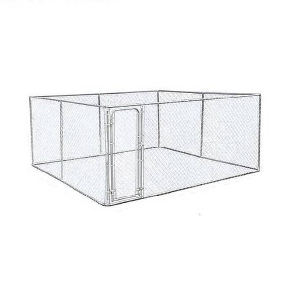 Cheapest Price Dog Pens - chain link dog kennel/cheap galvanizedl dog kennel wholesale – Yusheng Featured Image