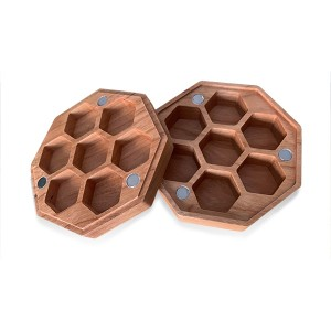 Wood Box Octagonal