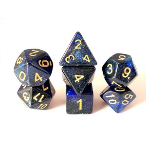 PriceList for Polyhedral Galaxy Dice - Two-tone glitter – YuSun