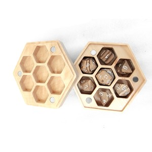 China wholesale Plastic Dice Box - Wood Box Hexagon  – YuSun