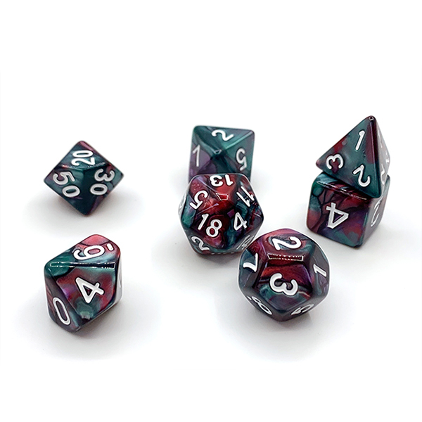 Acrylic Dice 3 colors Featured Image