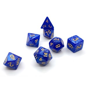 Acrylic Dice Pearly