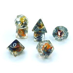 Chinese Professional Diy Resin Dice - Moss inside – YuSun