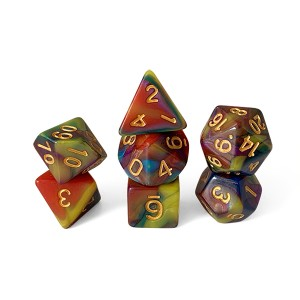 Acrylic Dice 4 colors