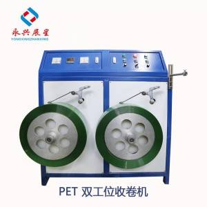 PET popruh Double Station Winder Machine