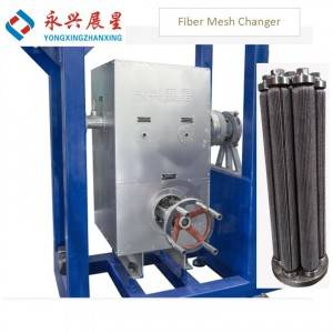 PET Chemical fiber filter mesh changer