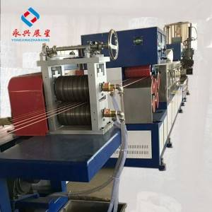Single Screw 6 Straps Output  PP strapping band Making Machine
