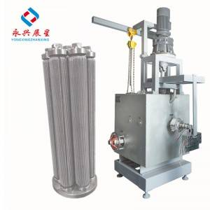 PET Chemical penapis gentian mesh changer