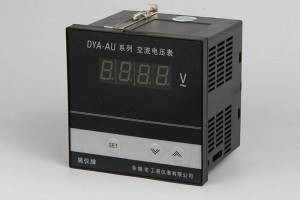 D Series Digital Voltmeter