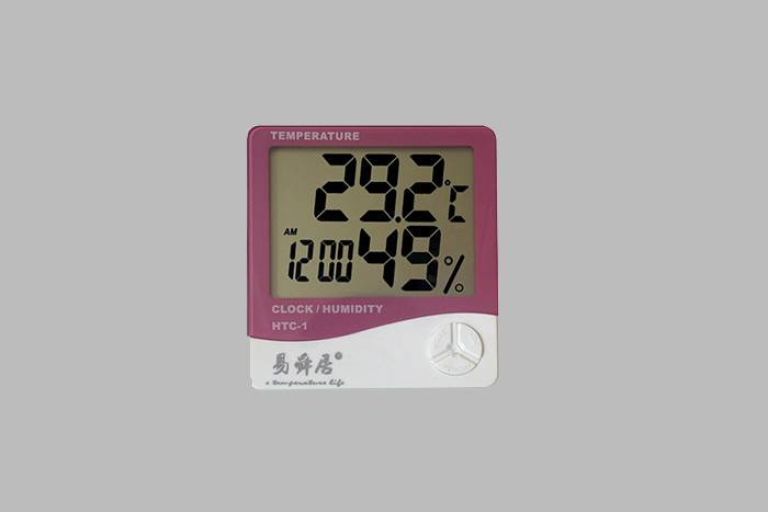 China Supplier Lcd Digital Alarm Clock Thermometer Temperature Humidity Hygrometer Meter For Home And Office Newest Featured Image
