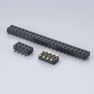 Female Header  Pitch:1.0mm(.039″) SMD