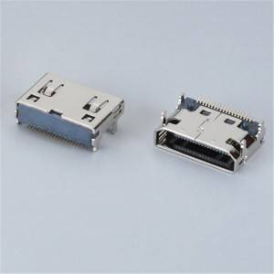 HDMI C-Type Female 90°DIP and SMD Type