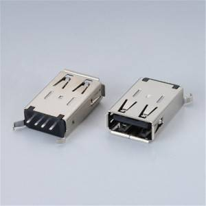USB 2.0 A-Type Female 180°DIP Type