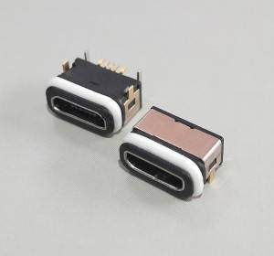 Waterproof Micro USB2.0 Female 5Pin B Type SMD&R/A