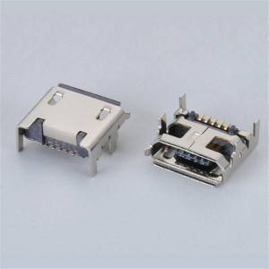 Micro USB Female 5Pin DIP and SMD Type