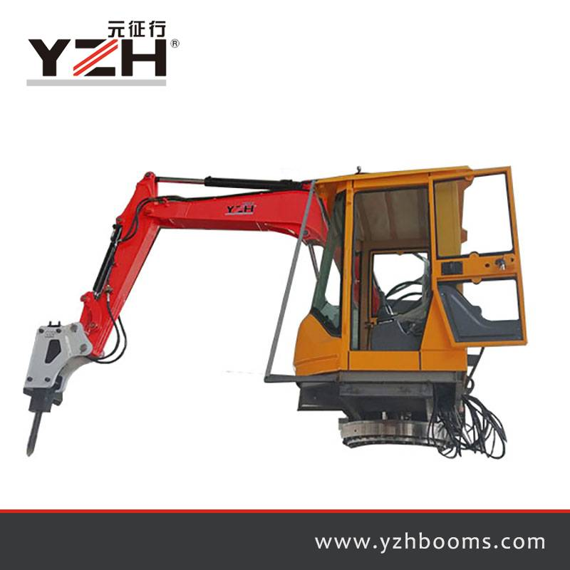Mobile Rock Breaker Booms System B300