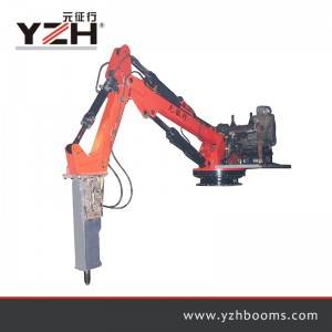 Portable Rock Breaker Boom System G330