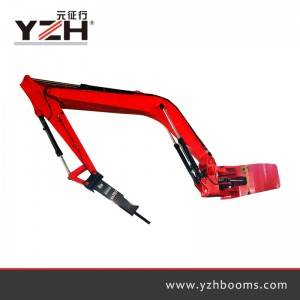 Պատվանդանի Rock Breaker Boom System XL1020R